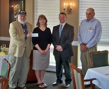 the Owensboro, KY Kiwanis Club. The Daviess County Key Club, under the leadership of president, Sam Smith, raised $1300 for the ELIMINATE project in one week.